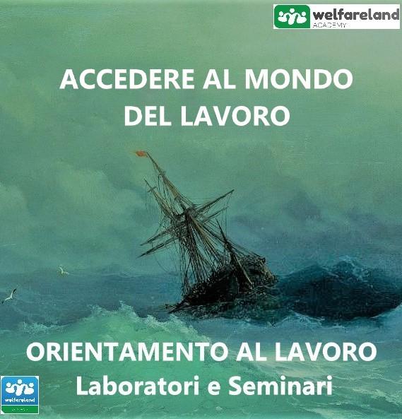 LOGO ACCEDERE AL MONDO DEL LAVORO - COD.08
