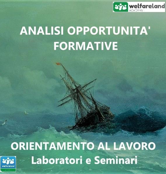 LOGO ANALISI OPPORTUNITA' FORMATIVE - COD.05