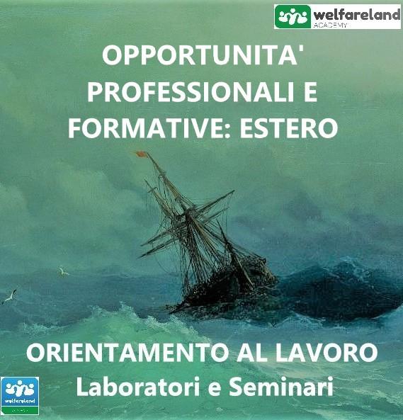 LOGO OPPORTUNITA' PROFESSIONALI E FORMATIVE-ESTERO - COD.11