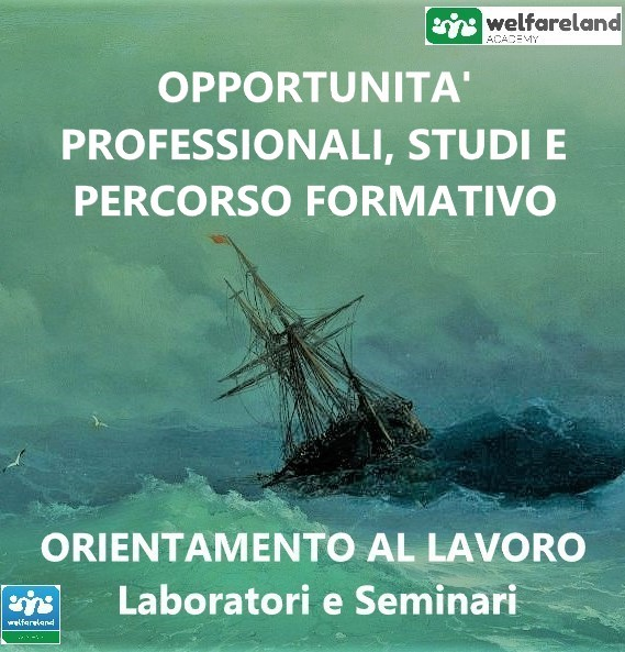 LOGO OPPORTUNITA' PROFESSIONALI,STUDI E PERORSO FORMATIVO - COD.07